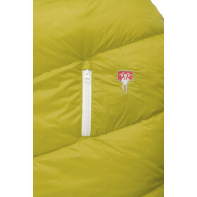Grüezi-Bag Biopod DownWool Sleeping Bag Kids citron